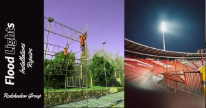 domestic lights and flood lights installations and repairs